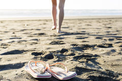 Beach Thongs Royalty Free Stock Photos