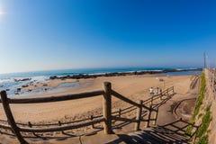 Beach Rock Pools Steps Holidays Royalty Free Stock Image