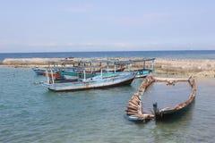 Beach of Tidung Island. Seribu Islands, Jakarta, Indonesia royalty free stock photography