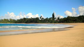 Beach Time Lapse. V8. Beautiful beach time lapse clip stock footage