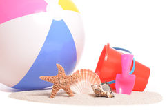 Beach Time Royalty Free Stock Photography