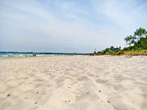 Beach in Timmendorfer Strand, baltic sea, germany Royalty Free Stock Images