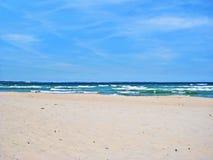 Beach in Timmendorfer Strand, baltic sea, germany Stock Image