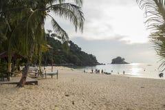 On the beach at Tioman Island Royalty Free Stock Image