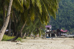 On the beach at Tioman Island Stock Images