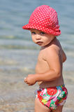 Beach toddler Royalty Free Stock Photography