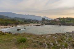 The beach of Toró Stock Photography