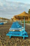Beach in Torremolinos, Spain Royalty Free Stock Image