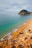 Beach in Tossa de Mar Stock Image
