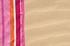 Beach towel Royalty Free Stock Photos