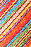 Beach towel. Detail of colorful beach towel texture suitable as background Stock Photos