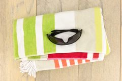 Beach Towel Royalty Free Stock Photo