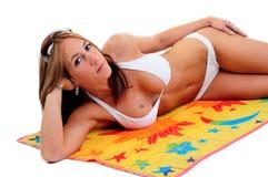 Beach Towel Stock Photography