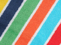 Beach towel background Stock Images
