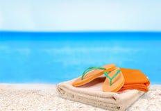 Beach Towel Stock Photos
