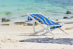 Beach towels. On nice holiday Stock Photo