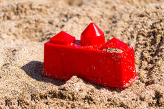 Beach tower toy Royalty Free Stock Image