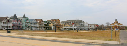Beach Town. Small Beach Town on the Jersey Shore Royalty Free Stock Images