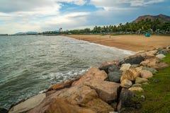 Beach in Townsville in the summer, Queensland, Australia stock photo