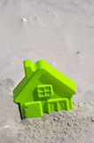Beach Toy. Child's Beach Toy, Beach home concept. Room for your text Stock Photos