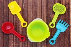 Beach toy set Stock Image