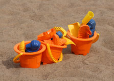 Beach toys. For young kids Royalty Free Stock Photography