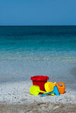 Beach toys Stock Photos