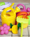 Beach toys. Some Beach toys for kids stock image