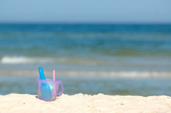 Beach toys royalty free stock image