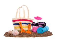 Beach Toys And Equipment Stock Image