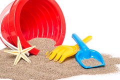 Beach toys Royalty Free Stock Images