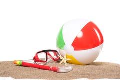 Beach toys Stock Photography