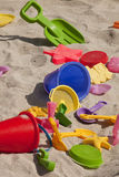 Beach Toys Royalty Free Stock Photography