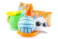 Beach toys isolated Royalty Free Stock Image