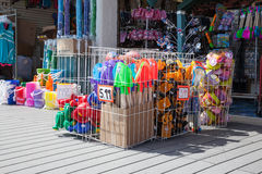 Beach Toys for Sale Royalty Free Stock Image