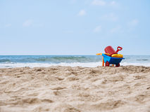 Beach Toys on Sand Summer Holiday Travel outdoor Stock Photography