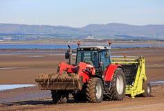 Beach Tractor Stock Photos