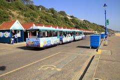 Beach train, Bournemouth, Dorset. Stock Image