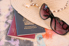 Beach travel Royalty Free Stock Images