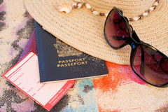 Beach travel Stock Images