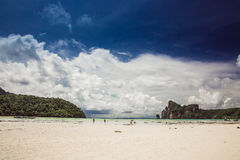 Beach. Traveling to Thailand, Phuket island, Asia Royalty Free Stock Image