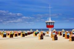 Beach in Travemunde Stock Photography