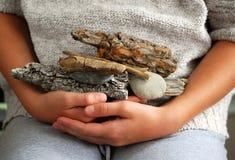Beach treasures Stock Photo