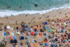 Beach Tropea (Calabria) Royalty Free Stock Photo