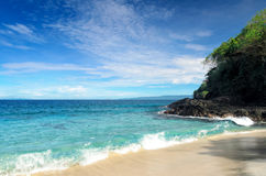 Tropical beach. Bali island, Indonesia Stock Images