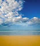 Beach on a tropical island Stock Image