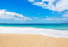 Beach and Tropical Ocean Stock Photography