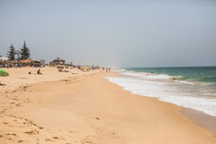 Beach and tropical ocean beach. Beach and tropical sea. Summer vocation concept Royalty Free Stock Photo