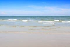 Beach and tropical sea. Beautiful tropical beach and sea Royalty Free Stock Image