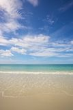 Beach and tropical sea Royalty Free Stock Photos